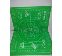 Силиконовый коврик для раскатки и выпечки